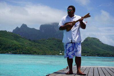 Willkommensgruß beim Hotelbesuch (Sofitel Private Island)