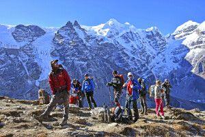 Akklimatisationsaufstieg zum Mera La Pass