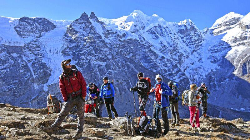 Akklimatisationsaufstieg zum Mera-La-Pass (5400m) © Diamir