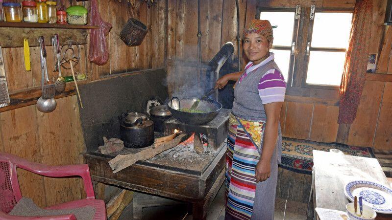 Mittagszeit in einer Lodge nahe Ningsow © Diamir