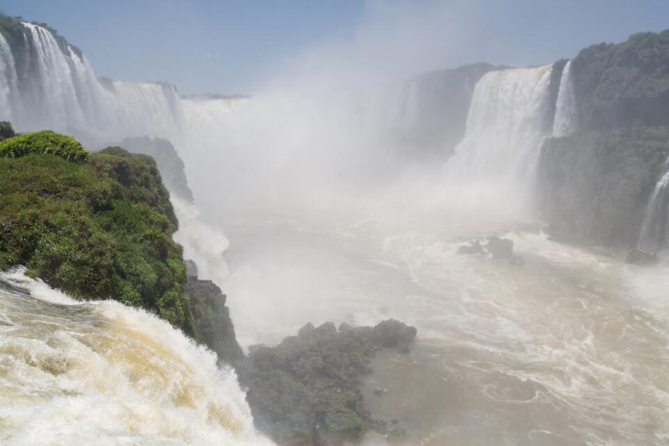 Teufelsschlucht, Iguazu-Wasserfälle, Brasilien