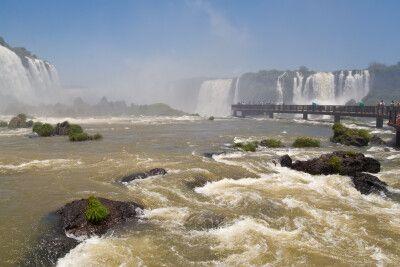 Teufelsschlucht, Iguaçu-Wasserfälle, Brasilien