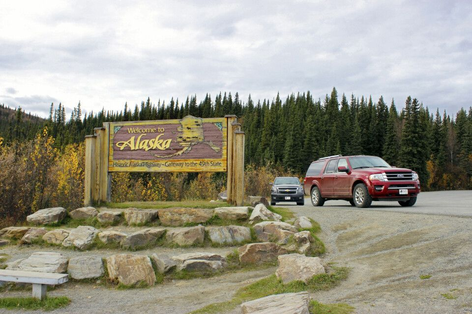 Mit dem Mietwagen durch Alaska