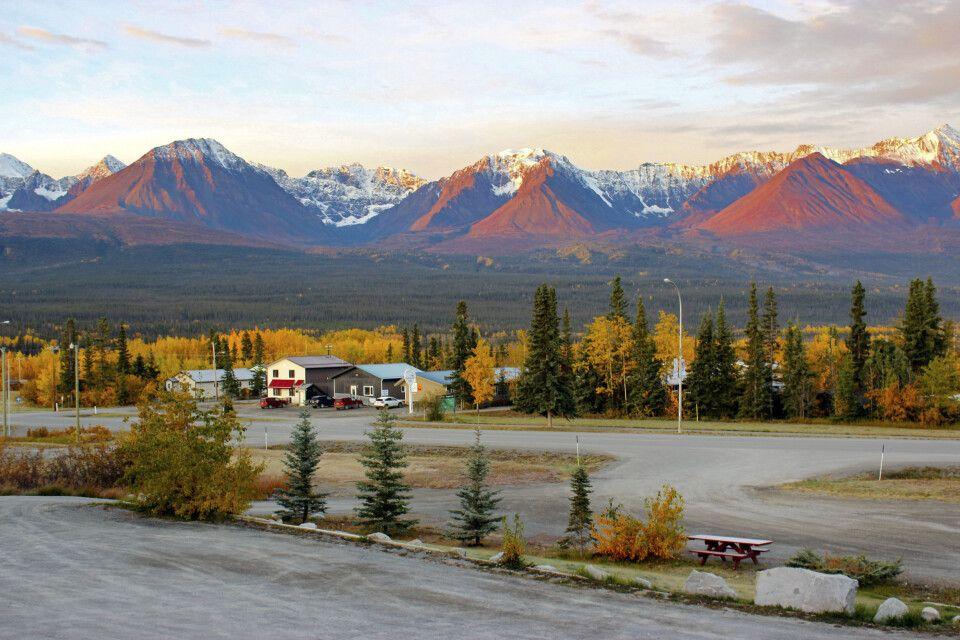 Kluane Gebirgszug St. Elias Mountains
