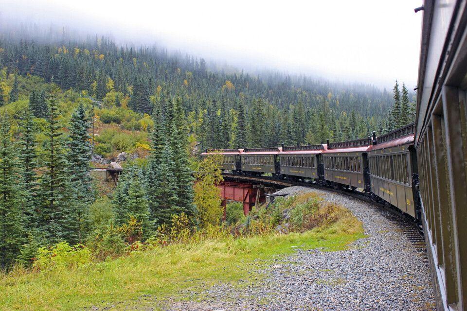 White Pass Railroad, Skagway