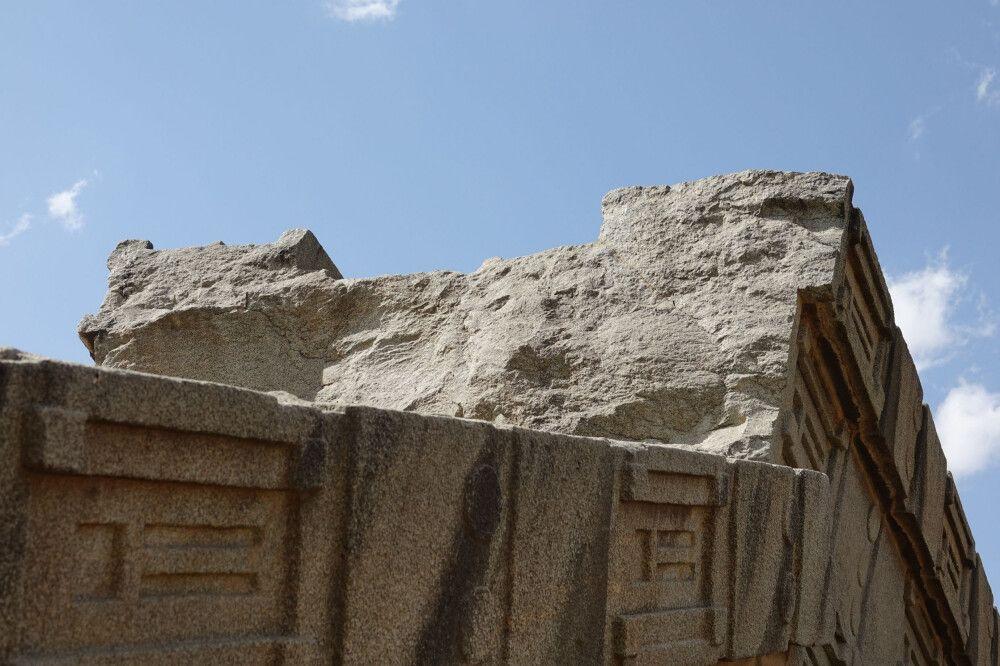 Axum – zerbrochene Stele