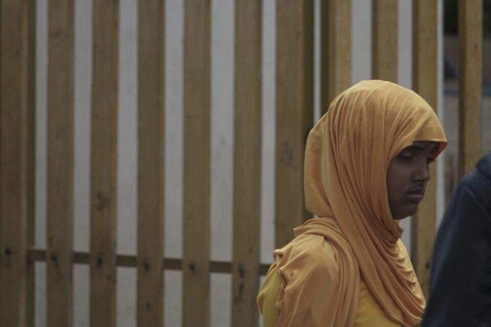 Mädchenporträt in Harar