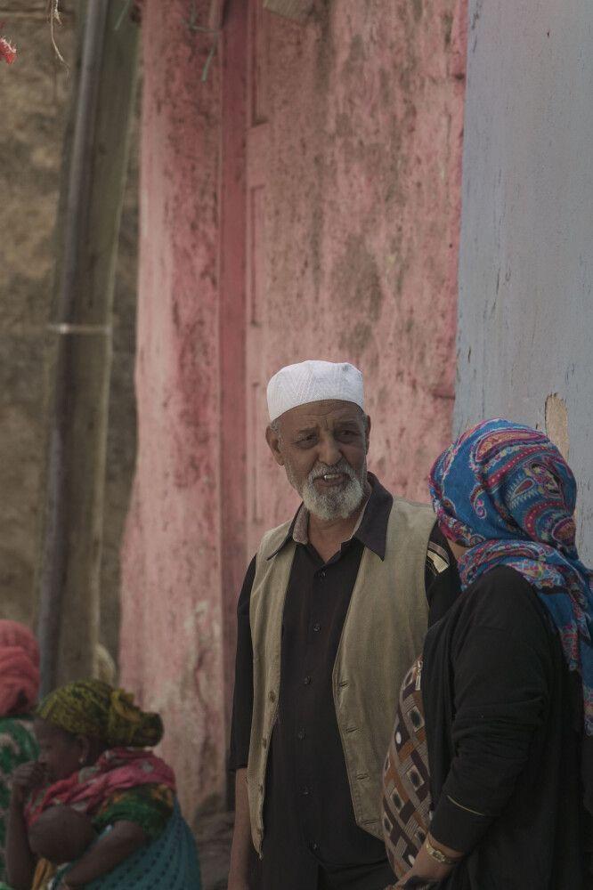 Mann in Harar