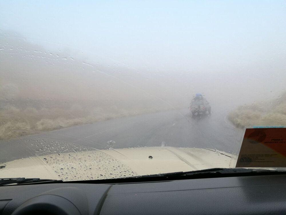 Wetterphänomene – Regen auf der Strecke