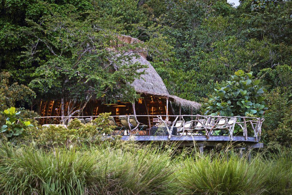 Lango Camp, Essbereich