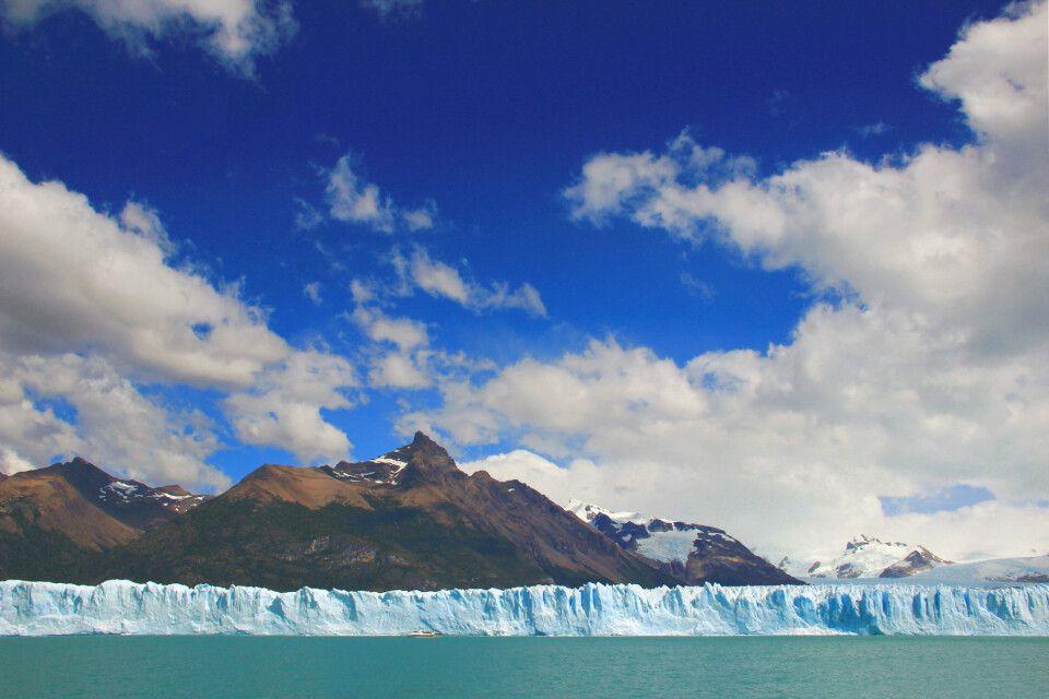 Der gewaltige Perito-Moreno-Gletscher
