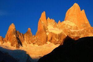 Felsmassiv des Fitz Roy im Nationalpark Los Glaciares