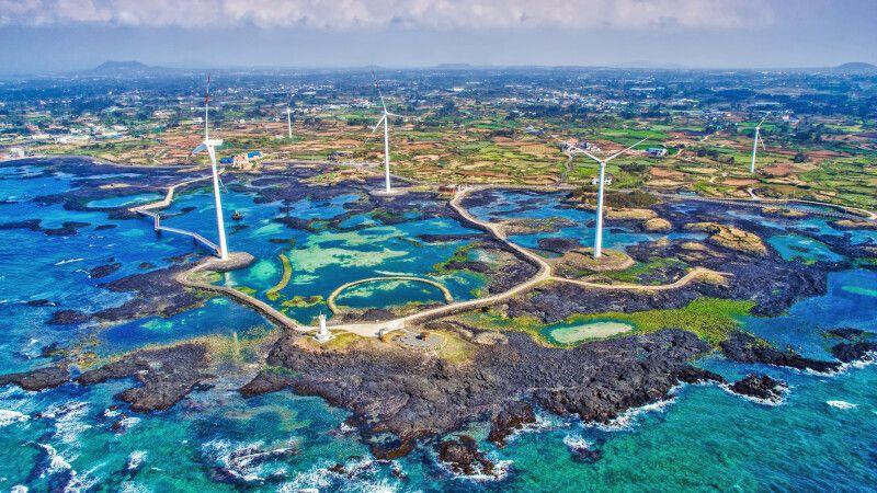 Bucht der Insel Jejudo © Diamir