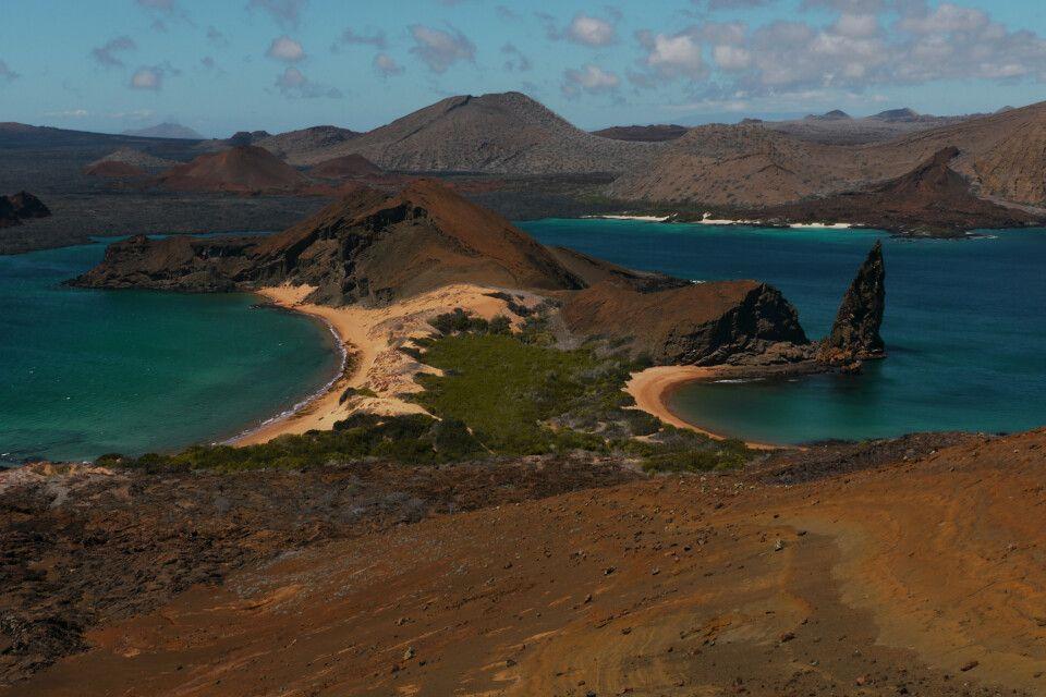 Isla Bartolome - Das wohl berühmteste Fotomotiv des Galapagos Archipels