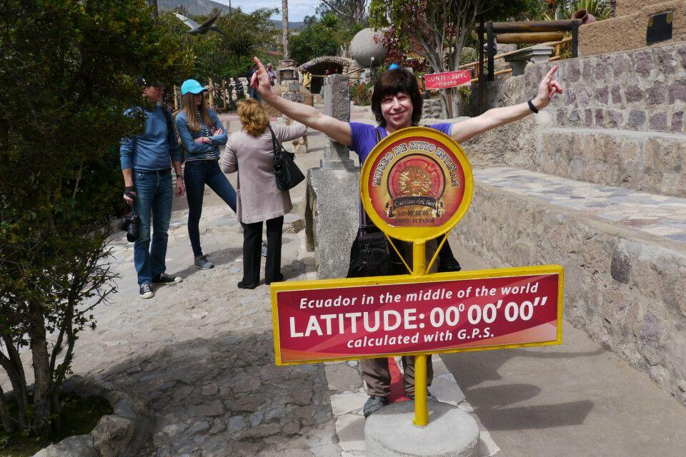 Zu Silvester auf dem Äquator