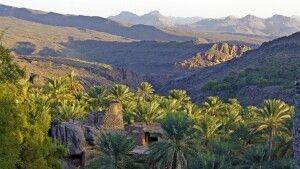 Panoramablick im Hadjargebirge