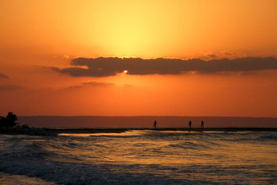 Sonnenuntergang bei Inhambane
