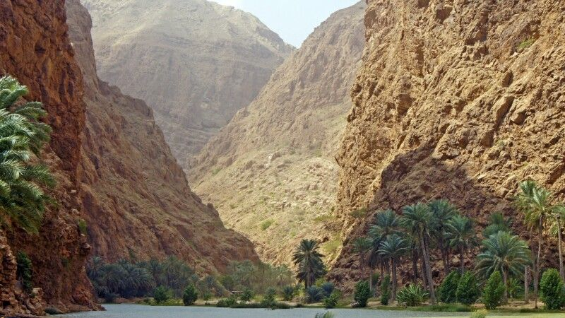 Wadi as shaab © Diamir