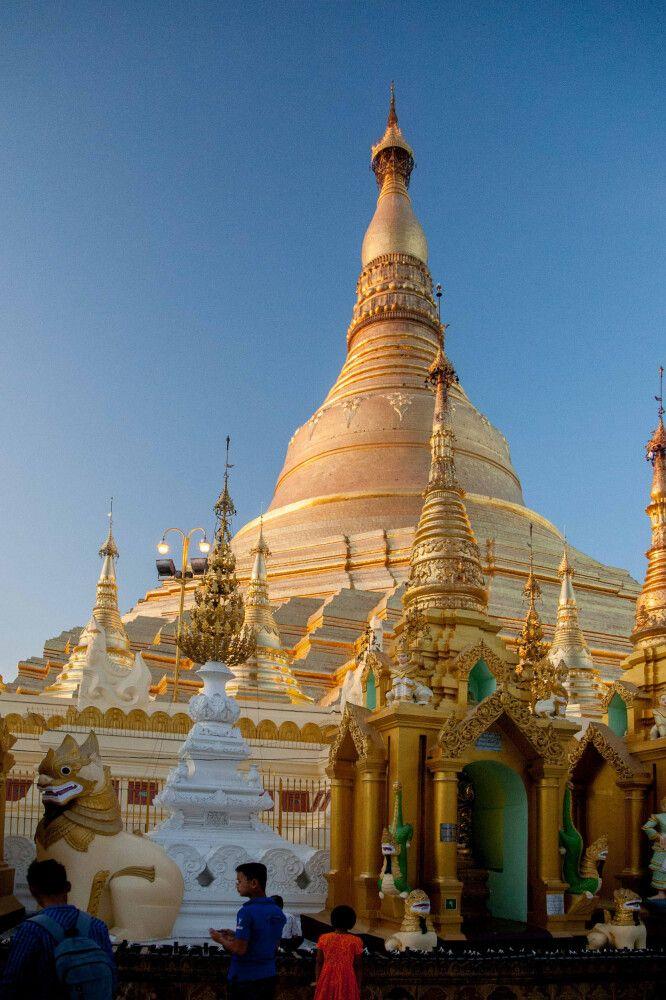In Myanmar ist auch alles Gold, was glänzt.