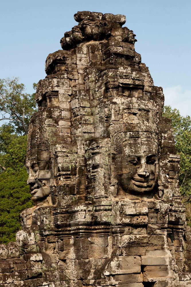 In den beeindruckenden Ruinen von Angkor