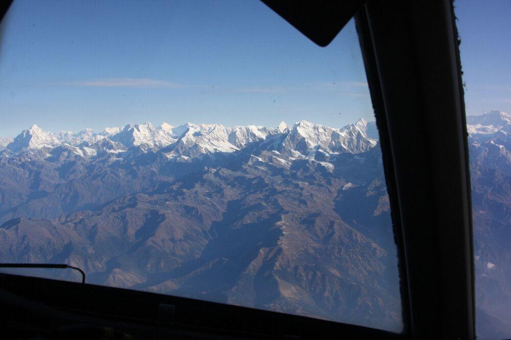 Nepal Mountain Flight (Panoramaflug)