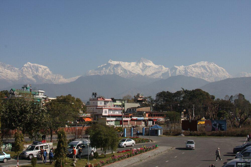Nepal Pokhara Flughafen