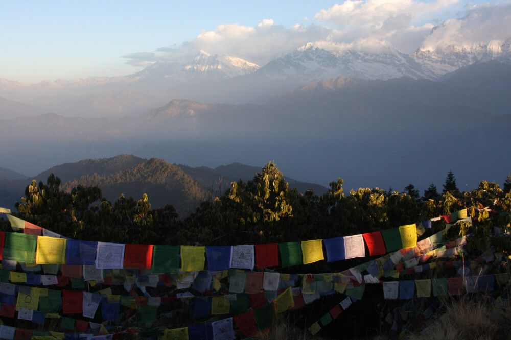 Nepal Poon Hill Sonnenaufgang