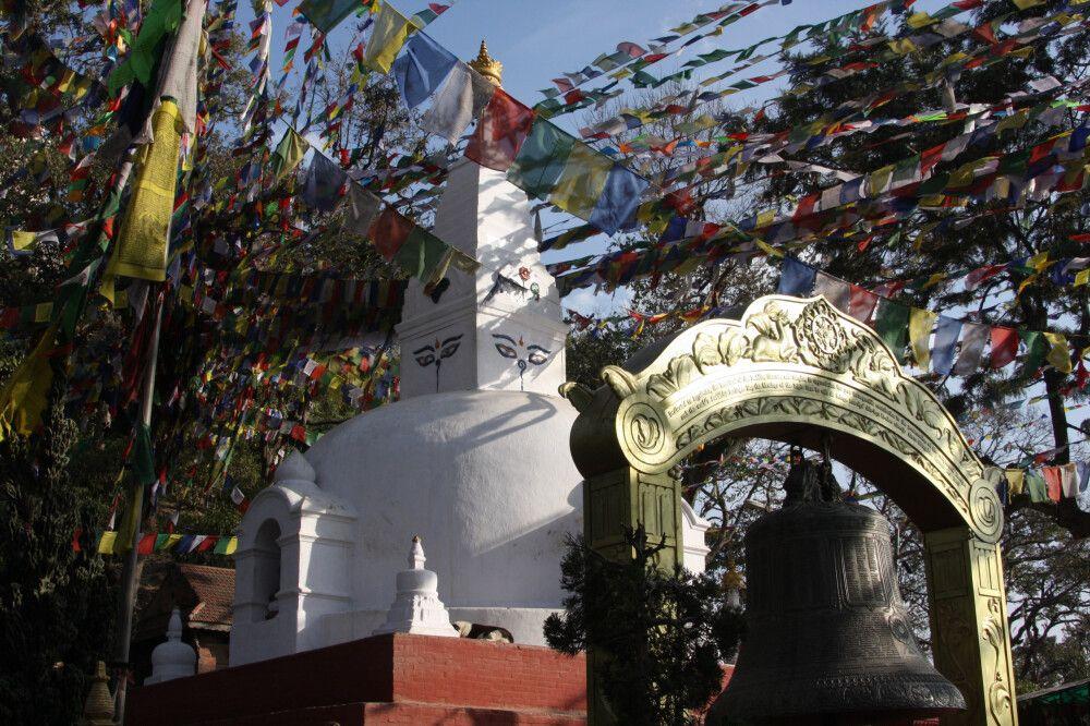 Nepal Kathmandu Swayambhunath