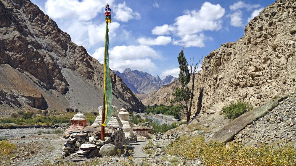 Ladakh Markha Valley von Chilling nach Skiu