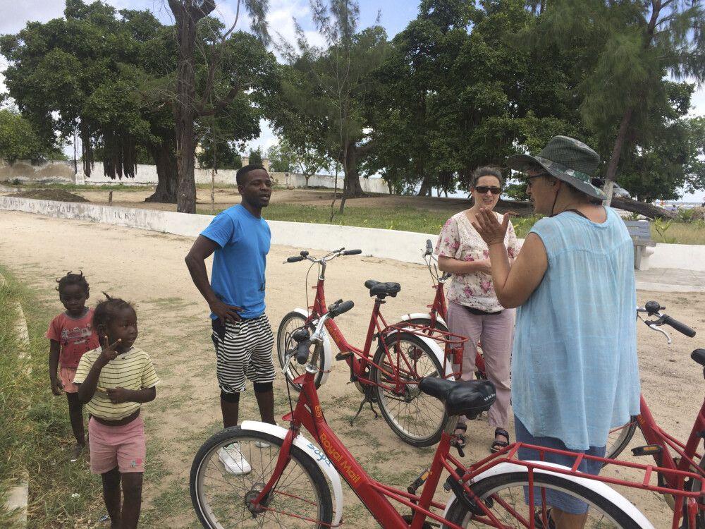 Historische und kulturelle Erkundung der Ilha de Moçambique (UNESCO Weltkulturerbe) per Fahrrad