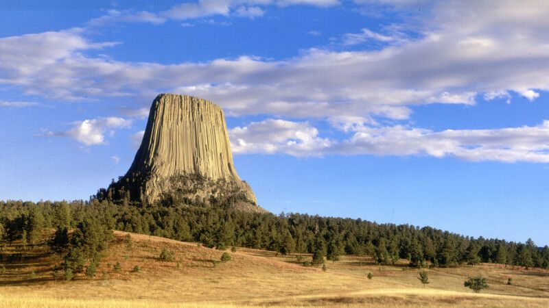 Devils Tower National Monument, Wyoming © Diamir