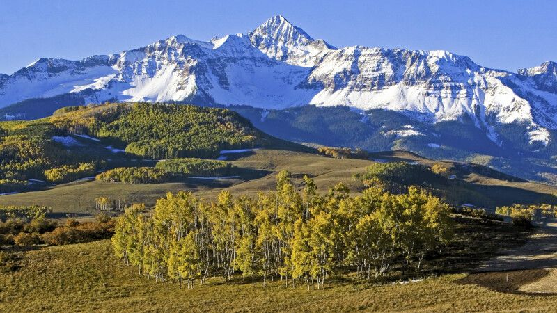 Schöne Rocky Mountain-Kulisse nahe Telluride, Colorado © Diamir