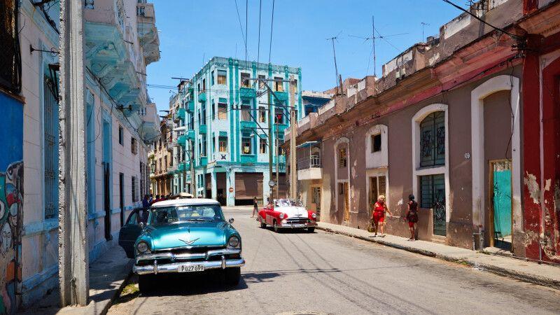 Straßenszene in Havanna © Diamir
