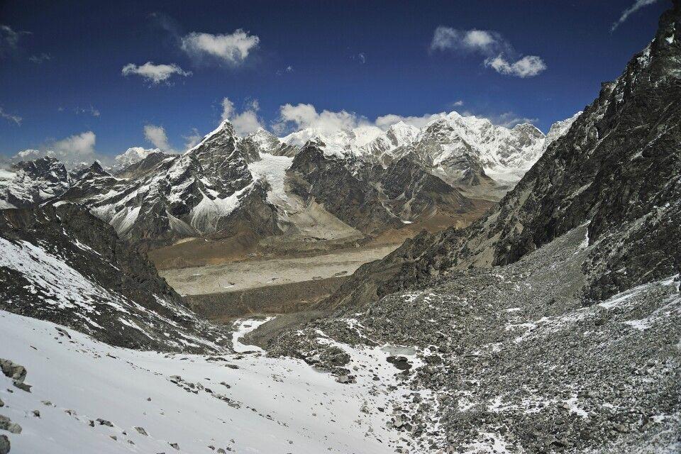 Blick vom Kongma La