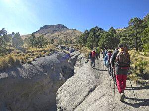 Aufstieg zum Akklimatisationsgipfel Malinche