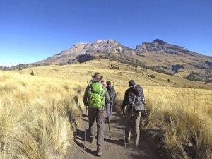 Wanderung zur Höhenanpassung am Iztaccihuatl