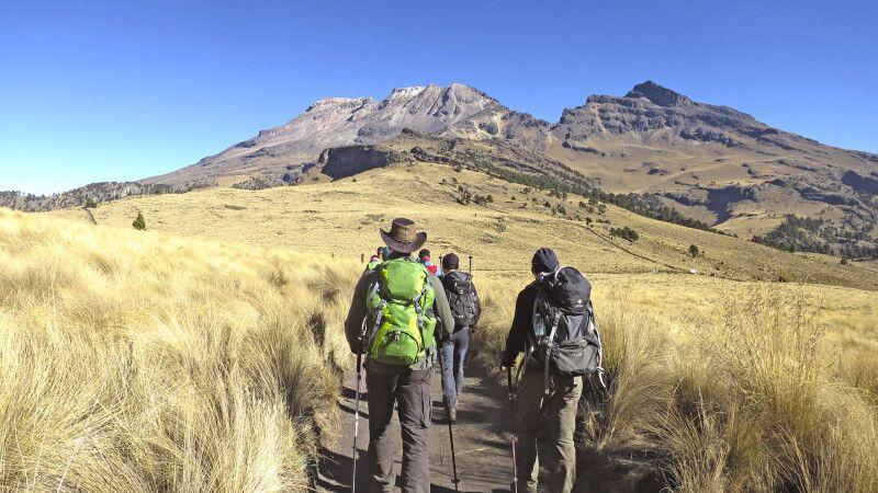 Wanderung zur Höhenanpassung am Iztaccihuatl © Diamir
