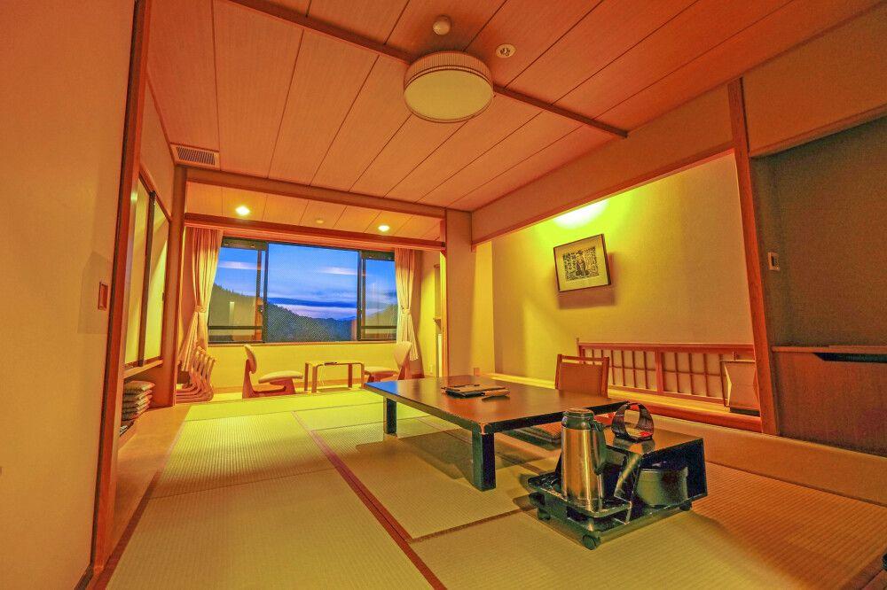 Ryokan Kumanoyu in Kiso – Zimmer Shinkan