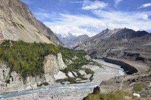 Das wilde Hunzaland im Norden Pakistans.