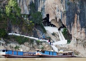 Pak-Ou-Höhlen unweit von Luang Prabang