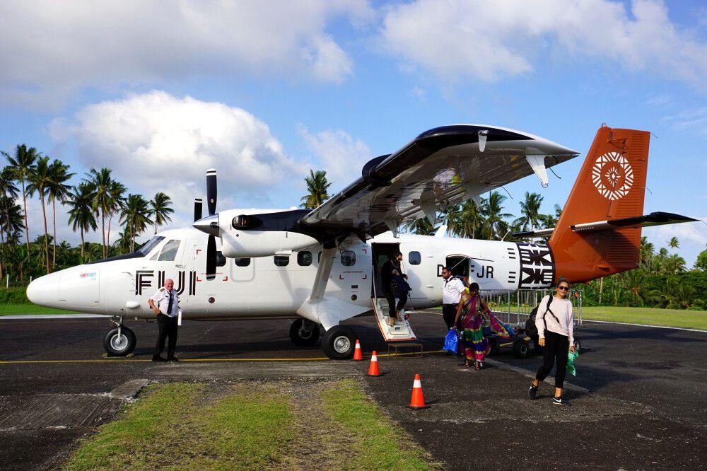 Inselhopping mit Fiji Airways