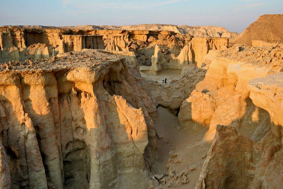 Tal der Sterne auf Qeshm – größte Insel in der Straße von Hormus am Ostende des Persischen Golfes