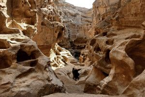 Chaku-Schlucht auf der Insel Qeshm