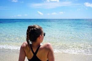 Entspannung am Strand in der Südsee