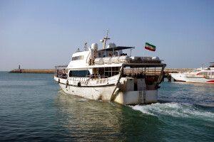 Fähre zur Insel Qeshm