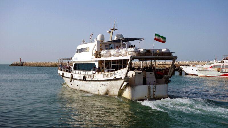 Fähre zur Insel Qeshm © Diamir