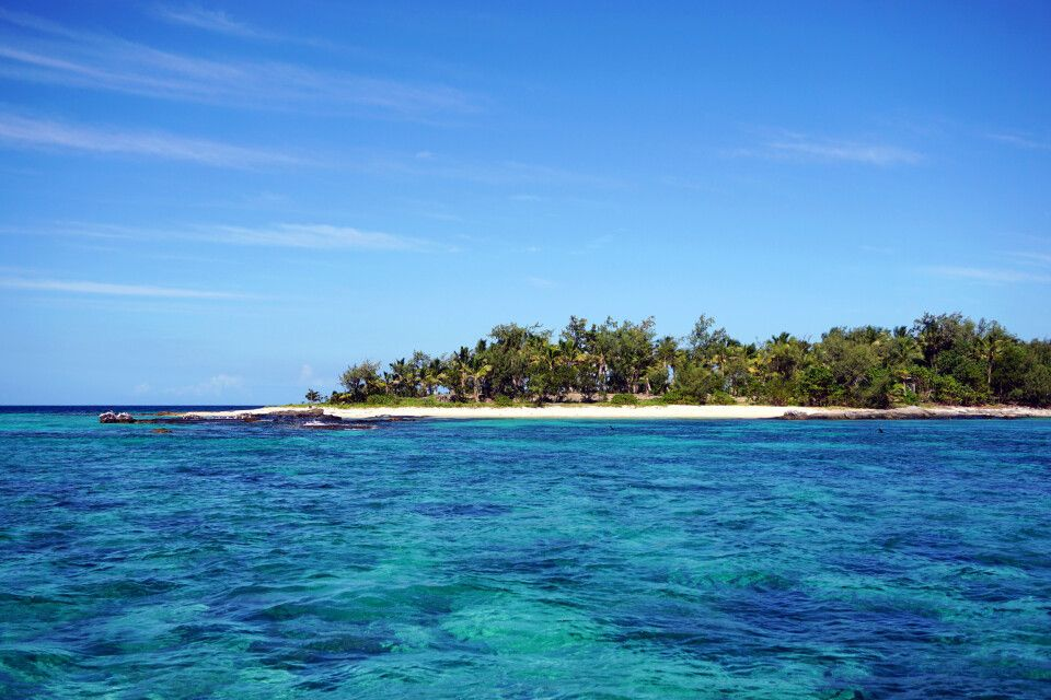 Auf den Yasawa-Inseln