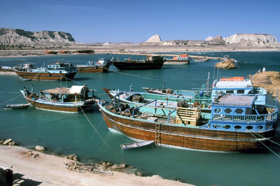 Hafen von Suza auf Qeshm