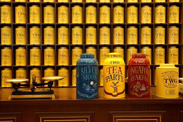 Im Teeladen in Singapur