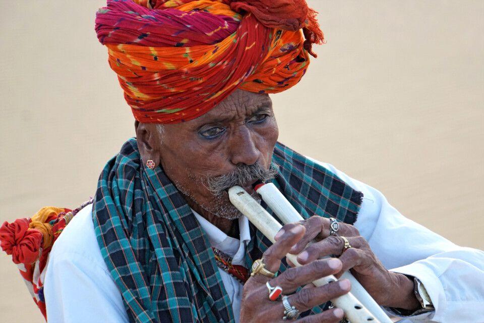 In der Wüste Thar bei Jaisalmer